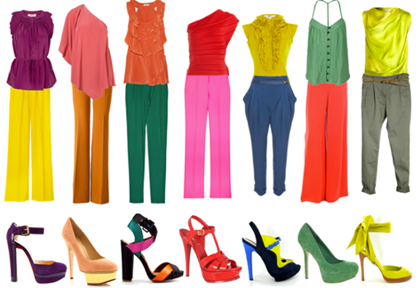 kleur op kleding